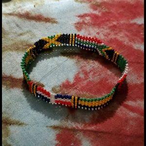 Unique African Bead Bracelet